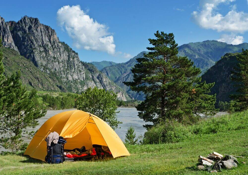 Challenging and Camping