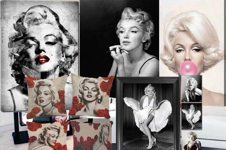 Marilyn Monroe Bedrooms [Ideas, Inspiration, Pictures and More]