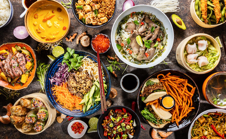Types of Cuisines from Around the World With their Popular Food