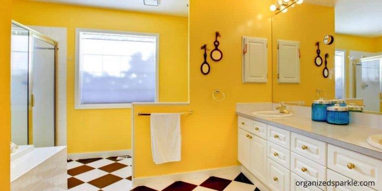 gorgeous yellow bathroom ideas